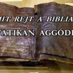 EGY 1500 ÉVES BIBLIA SZERINT JÉZUST NEM FESZÍTETTÉK KERESZTRE, A VATIKÁN AGGÓDIK!