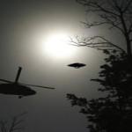 UFO-T KÖVETETT A HELIKOPTER?