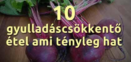 10 GYULLADÁSCSÖKKENTŐ ÉTEL AMI TÉNYLEG HAT!