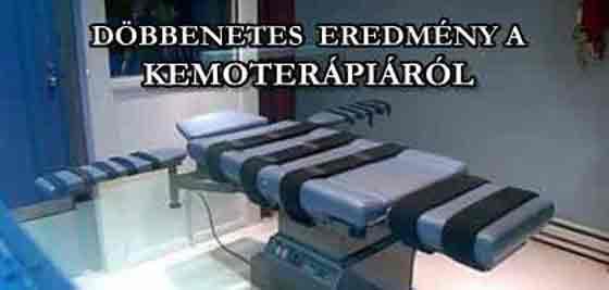 DÖBBENETES EREDMÉNY A KEMOTERÁPIÁRÓL. - Egészségmegőrzés.