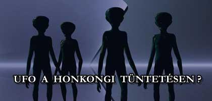 UFO A HONGKONGI TÜNTETÉSEN?