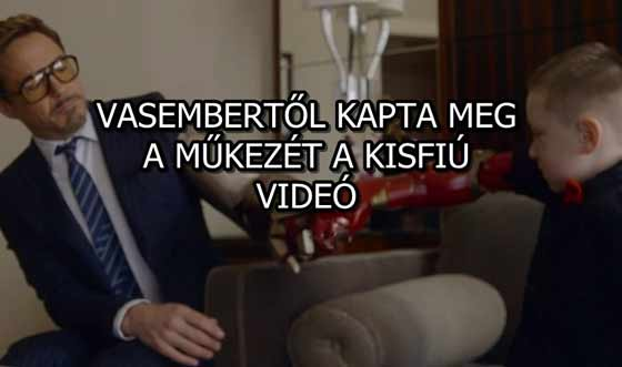 VASEMBERTŐL KAPTA MEG A MŰKEZÉT A KISFIÚ - VIDEÓ
