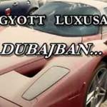 ELHAGYOTT LUXUSAUTÓK DUBAJBAN