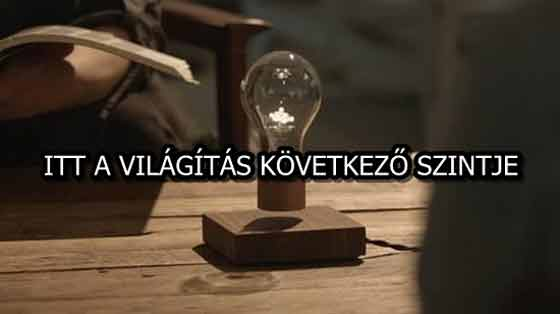 ITT A VILÁGÍTÁS KÖVETKEZŐ SZINTJE