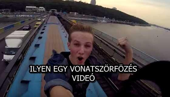 ILYEN EGY VONATSZÖRFÖZÉS! - VIDEÓ