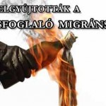 MOLOTOV-KOKTÉLLAL GYÚJTOTTÁK FEL A LAKÁSFOGLALÓ MIGRÁNSOKAT