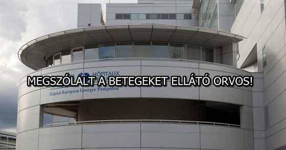 MEGSZÓLALT A BETEGEKET ELLÁTÓ ORVOS!