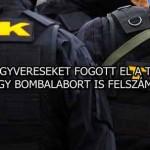 FEGYVERESEKET FOGOTT EL A TEK ÉS EGY BOMBALABORT IS FELSZÁMOLT!