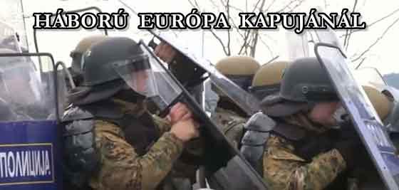 HÁBORÚ EURÓPA KAPUJÁNÁL.