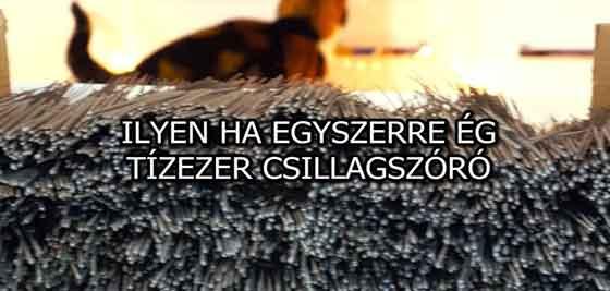 ILYEN HA EGYSZERRE ÉG TÍZEZER CSILLAGSZÓRÓ