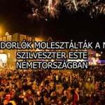 BEVÁNDORLÓK MOLESZTÁLTÁK A NŐKET SZILVESZTER ESTE NÉMETORSZÁGBAN