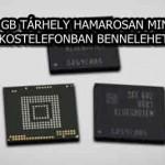 A 256 GB TÁRHELY HAMAROSAN MINDEN OKOSTELEFONBAN BENNELEHET