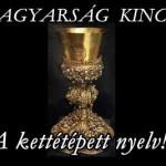 A MAGYARSÁG KINCSEI - A kettétépett nyelv!