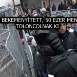 AUSZTRIA BEKEMÉNYÍTETT, 50 EZER MENEKÜLTET TOLONCOLNAK KI
