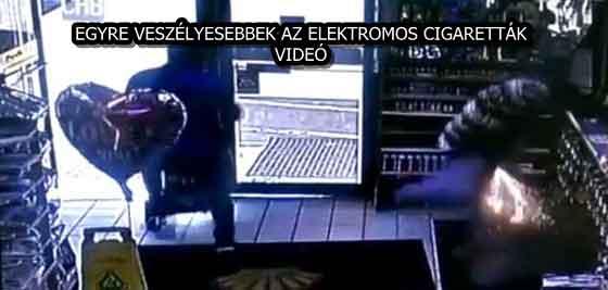 EGYRE VESZÉLYESEBBEK AZ ELEKTROMOS CIGARETTÁK - VIDEÓ