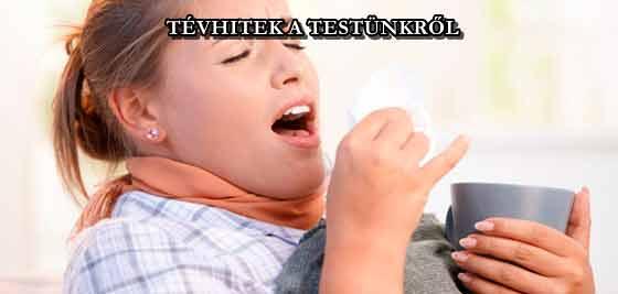 TÉVHITEK A TESTÜNKRŐL