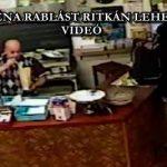 ILYEN BÉNA RABLÁST RITKÁN LEHET LÁTNI – VIDEÓ