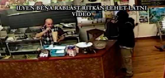 ILYEN BÉNA RABLÁST RITKÁN LEHET LÁTNI - VIDEÓ