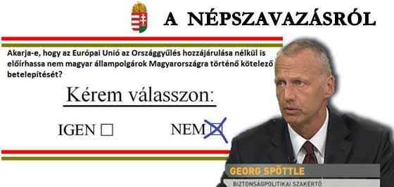 A NÉPSZAVAZÁSRÓL-GEORG SPÖTTLE.