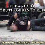 ITT A VIDEÓ, A TERÉZ KÖRÚTI ROBBANTÓ ELFOGÁSÁRÓL