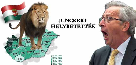 JUNCKERT HELYRETETTÉK.