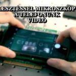 EGY ÚJ FEJLESZTÉSSEL MIKROSZKÓPPÁ VÁLHAT A TELEFONUNK - VIDEÓ