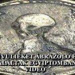 FÖLDÖNKÍVÜLIEKET ÁBRÁZOLÓ ÉRMÉKET TALÁLTAK EGYIPTOMBAN – VIDEÓ