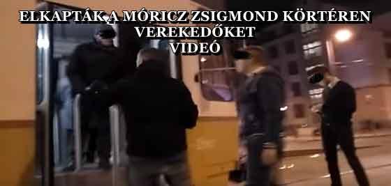 ELKAPTÁK A MÓRICZ ZSIGMOND KÖRTÉREN VEREKEDŐKET - VIDEÓ