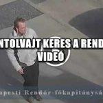 TELEFONTOLVAJT KERES A RENDŐRSÉG - VIDEÓ