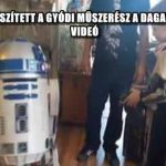 IGAZI R2-D2-T KÉSZÍTETT A GYÓDI MŰSZERÉSZ A DAGANATOS KISFIÚNAK – VIDEÓ