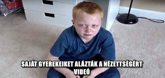 SAJÁT GYEREKEIKET ALÁZTÁK A NÉZETTSÉGÉRT - VIDEÓ