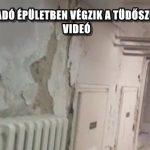 PENÉSZES, ROHADÓ ÉPÜLETBEN VÉGZIK A TÜDŐSZŰRÉST CSEPELEN - VIDEÓ