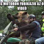 OLDALKOCSIS MOTORON FURIKÁZIK AZ OROSZ MEDVE – VIDEÓ