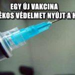 EGY ÚJ VAKCINA 99 SZÁZALÉKOS VÉDELMET NYÚJT A HIV ELLEN