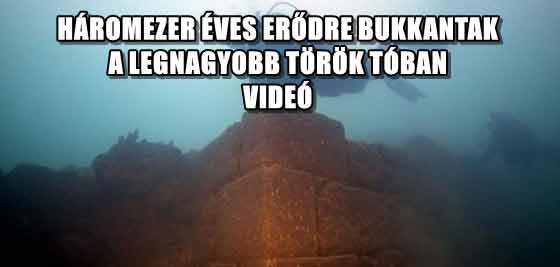 HÁROMEZER ÉVES ERŐDRE BUKKANTAK A LEGNAGYOBB TÖRÖK TÓBAN - VIDEÓ