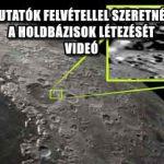 AMATŐR UFO KUTATÓK FELVÉTELLEL SZERETNÉK BIZONYÍTANI A HOLDBÁZISOK LÉTEZÉSÉT - VIDEÓ