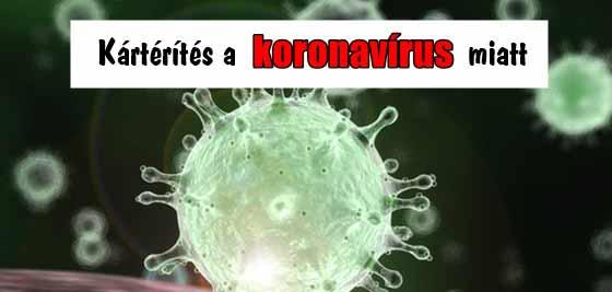 A koronavírus miatt kérhet valaki kártérítést?